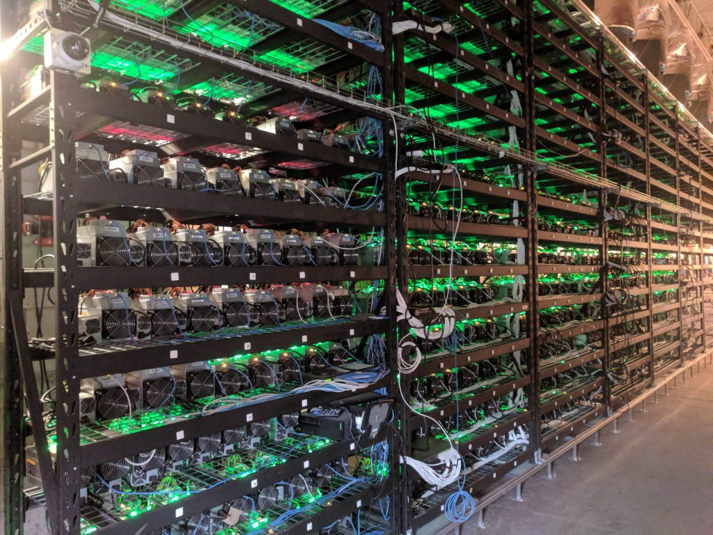 Cryptocurrency mining hosting service in in